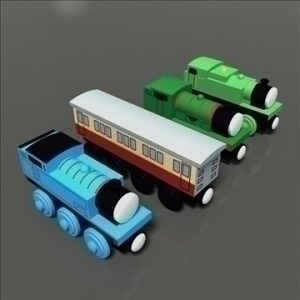 Toy Train Pack 01