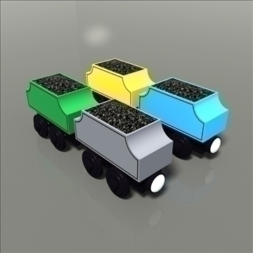 toy train pack 02 3d model max 81790