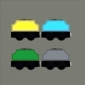 toy train pack 02 3d model max 81791