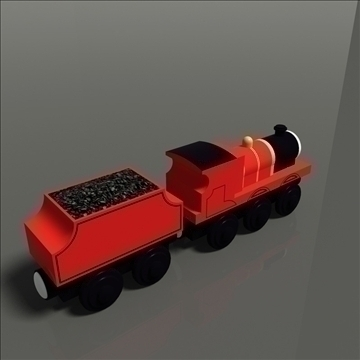 toy train pack 02 3d model max 81795