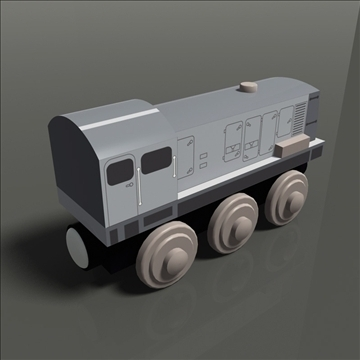 toy train pack 02 3d model max 81797