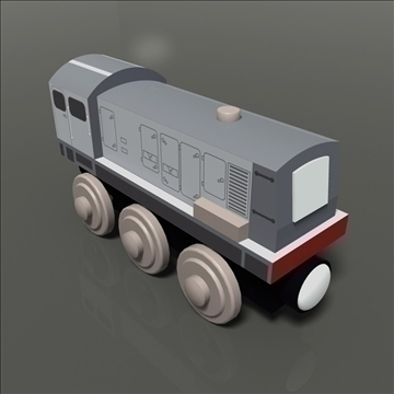 toy train pack 03 3d model max 81804