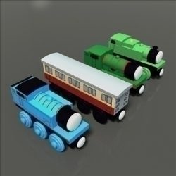 Toy Train Pack 01 ( 62.71KB jpg by archatexture )