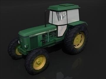 tractor b 3d model 3ds max obj 107830