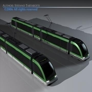 tramway 3d model 3ds dxf c4d obj 83997