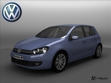 volkswagen golf vi pack1 3d model max 102238