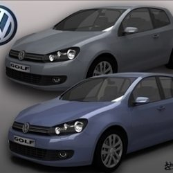 Volkswagen Golf VI Pack1 ( 61.05KB jpg by rburlea )