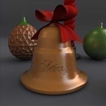 xmass properties 3d model 3ds fbx mješavina lwo obj 108070