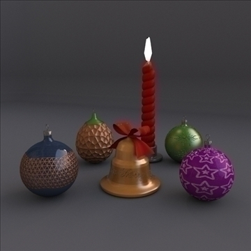 xmass assets 3d model 3ds fbx blend lwo obj 108071
