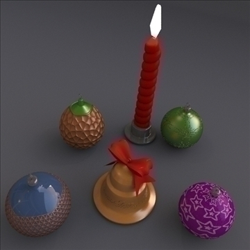 xmass assets 3d model 3ds fbx blend lwo obj 108072