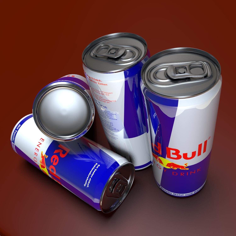 napój energetyczny może model 3d mieszać obj 117096