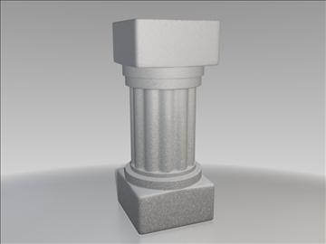 Ром суурийн 3d загвар 3ds fbx холимог obj 111100