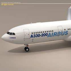 Airbus A330-200 ( 53.67KB jpg by tartino )