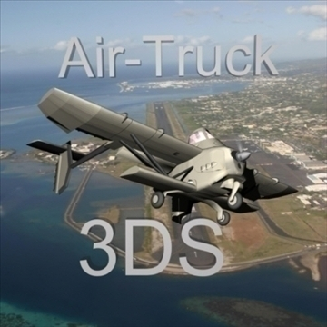 airtruck 3d model 3ds 79149