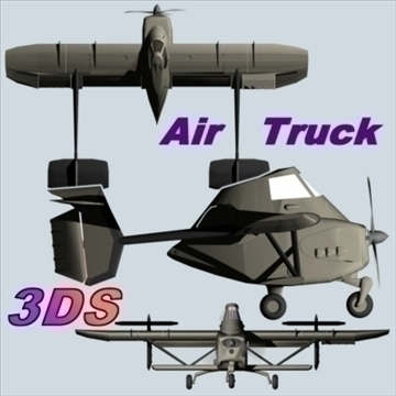 airtruck 3d model 3ds 79150