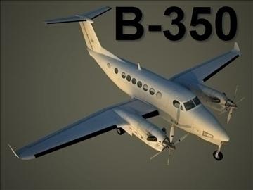 beechcraft b 350 3d model max 105792