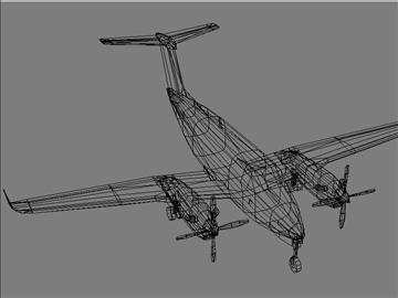 beechcraft b 350 3d model max 105796