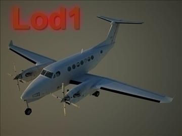 beechcraft b 350 3d model max 105800