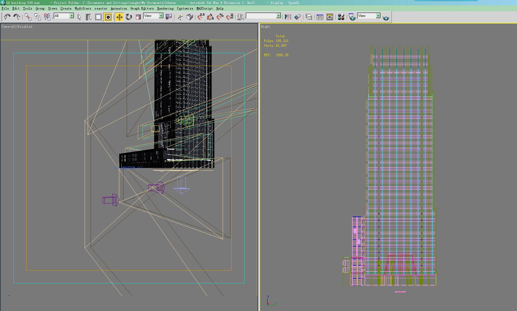 building 039 3d model max 133543