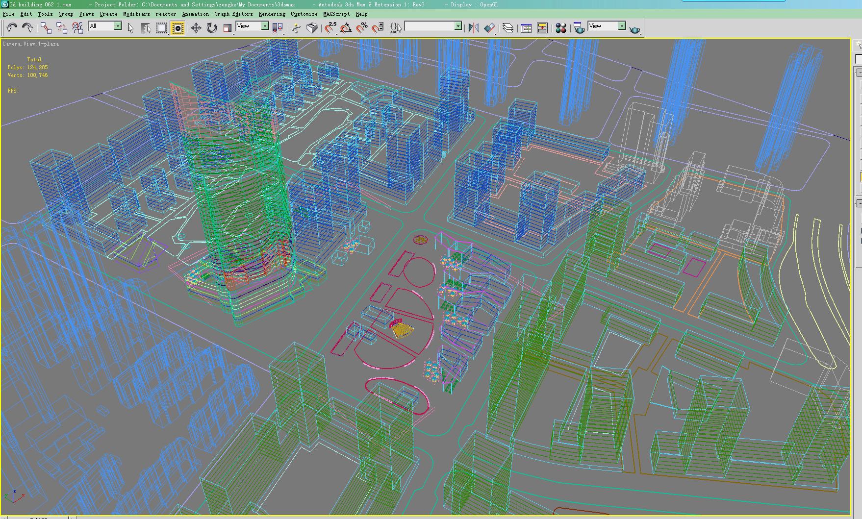 building 062 3d model max 133568