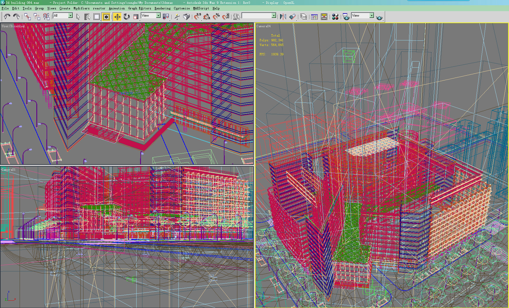 building 064 3d model max 133572