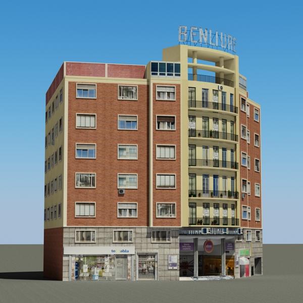 building 80 3d model 3ds max fbx texture obj 156897