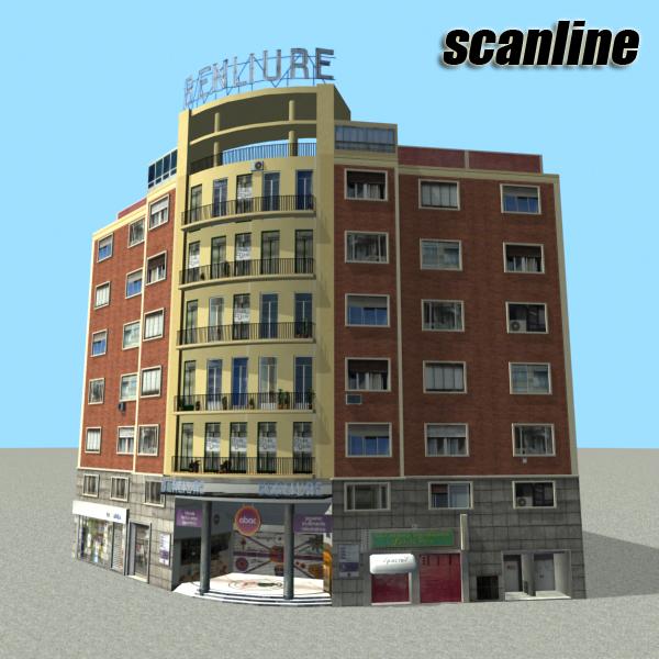 building 80 3d model 3ds max fbx texture obj 156906