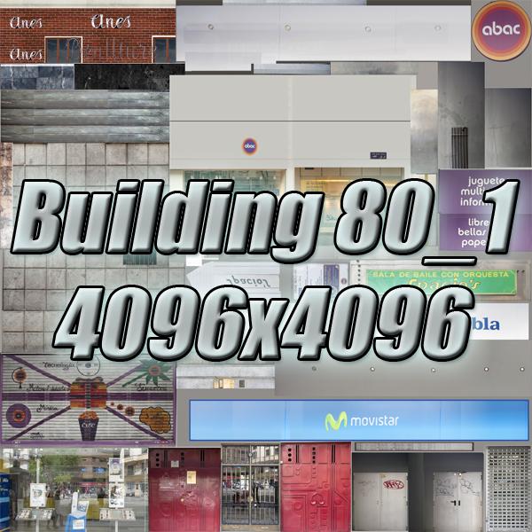 building 80 3d model 3ds max fbx texture obj 156908