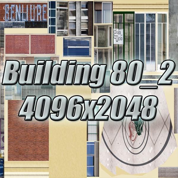 building 80 3d model 3ds max fbx texture obj 156909