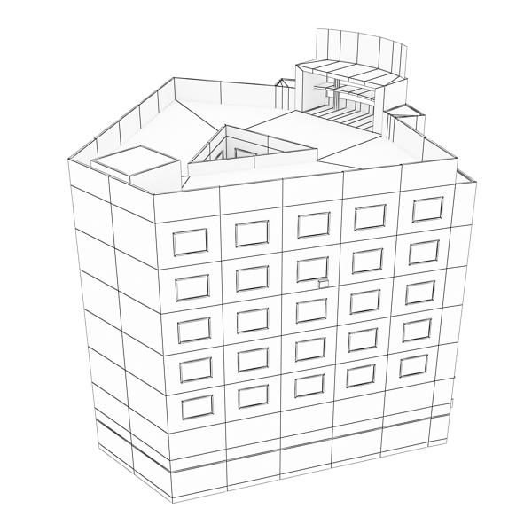 building 80 3d model 3ds max fbx texture obj 156911