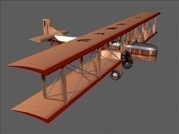 farman goliath f60 3d model max 99052