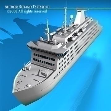 ferryboat2 model 3d 3ds dxf c4d obj 88162