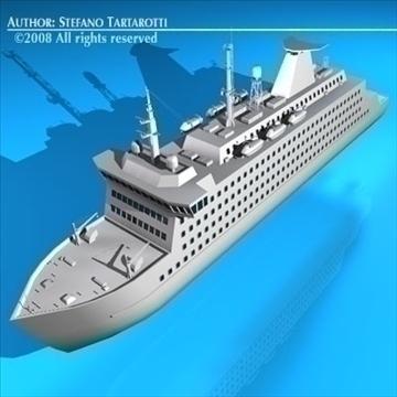 ferryboat2 model 3d 3ds dxf c4d obj 88163