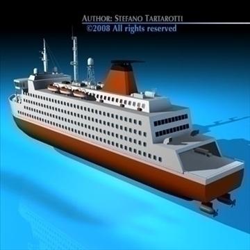 ferryboat2 model 3d 3ds dxf c4d obj 88165