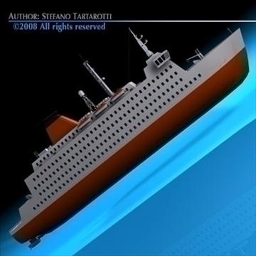 ferryboat2 model 3d 3ds dxf c4d obj 88166