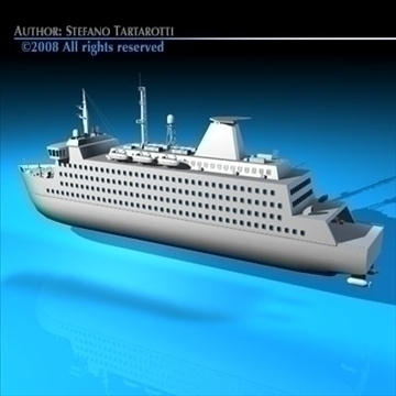 ferryboat2 3d modelis 3ds dxf c4d obj 88167