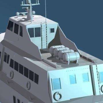 spārnu kuģis 3d modelis 3ds c4d obj 77510