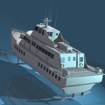 spārnu kuģis 3d modelis 3ds c4d obj 77511