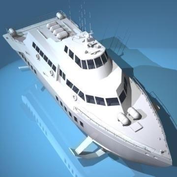 spārnu kuģis 3d modelis 3ds c4d obj 77513