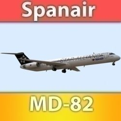 MD-82 Spanair ( 64.12KB jpg by Escobar_Studios )