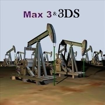 oilrig 3d model 3ds max 79135