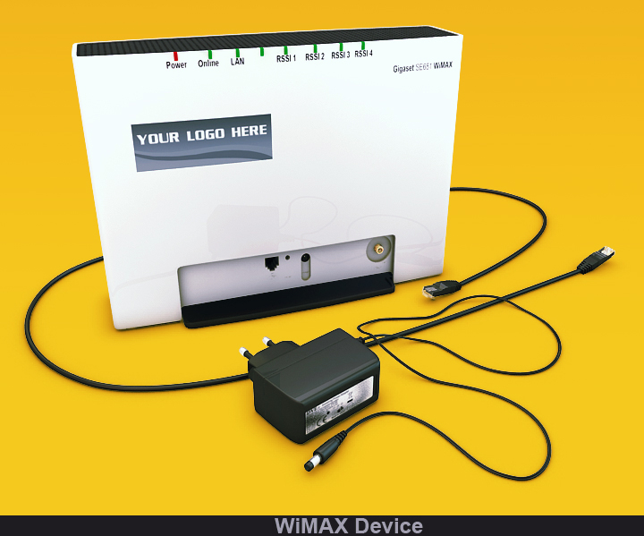 wimax device 3d model 3ds max fbx obj 117232