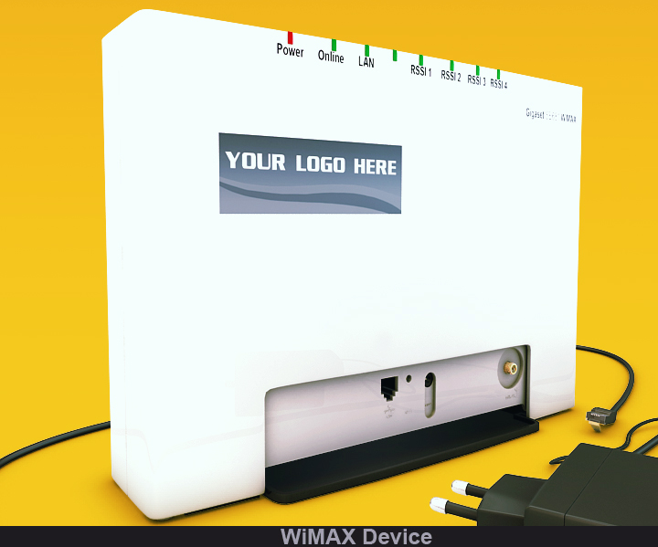 wimax device 3d model 3ds max fbx obj 117235