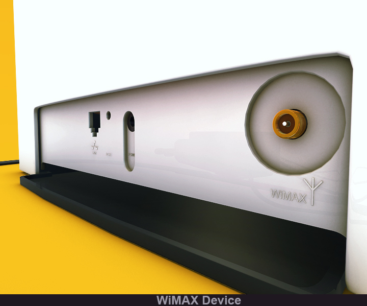 wimax device 3d model 3ds max fbx obj 117239
