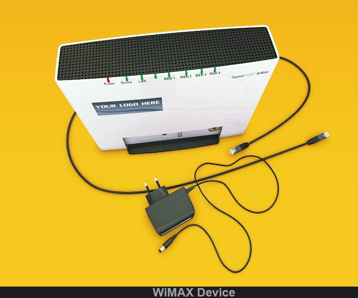 wimax device 3d model 3ds max fbx obj 117240