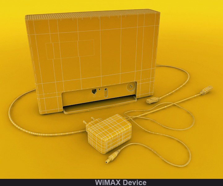 wimax device 3d model 3ds max fbx obj 117241