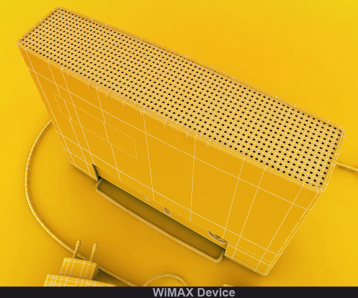 wimax device 3d model 3ds max fbx obj 117242
