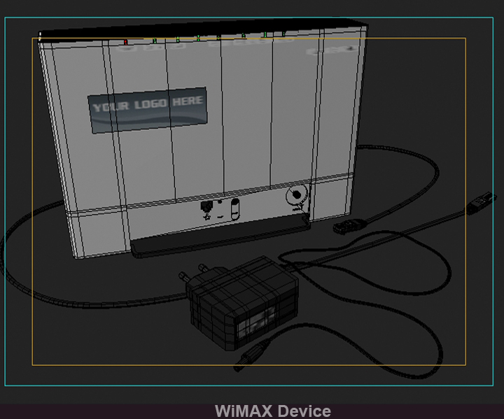 wimax device 3d model 3ds max fbx obj 117243