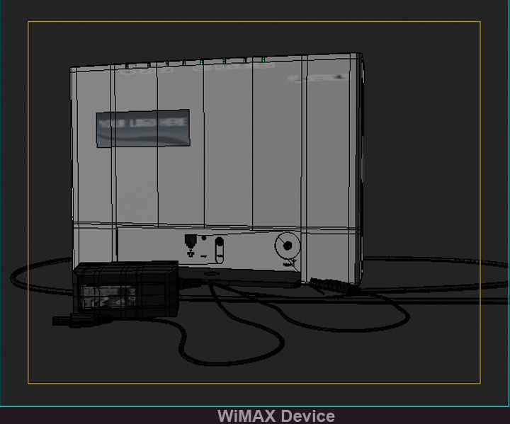 wimax device 3d model 3ds max fbx obj 117244