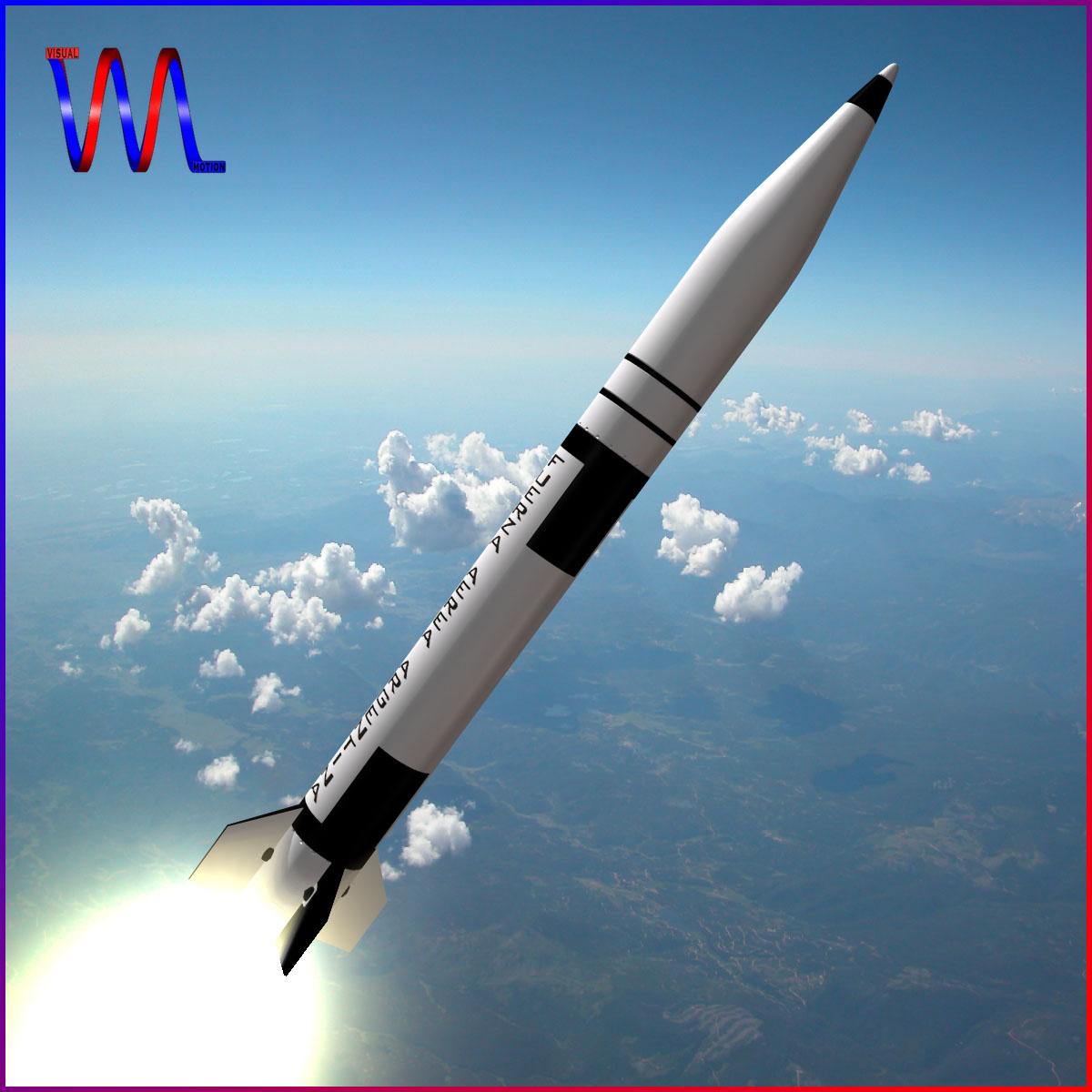 condor i-aiii/alacran missile 3d model 3ds dxf fbx blend cob dae x  obj 166206